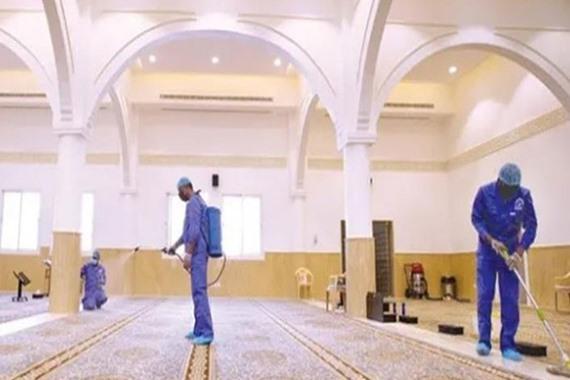 صورة إغلاق 39 مسجد في 8 مناطق مختلفة بالسعودية