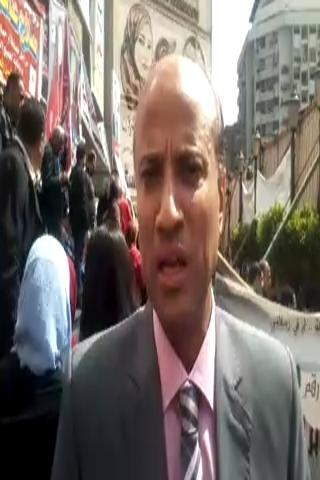 بالفيديووالصور.. المرشحون وأبناؤهم بسرادق الصحفيين