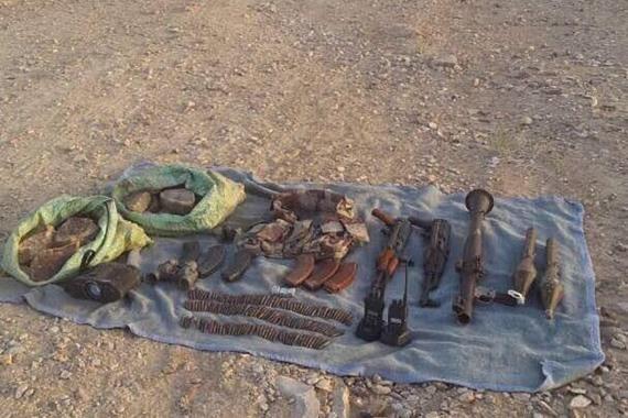 ضبط وكر متفجرات و9 مزارع مخدرات بوسط سيناء — القوات المسلحة
