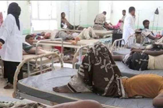 ارتفاع عدد وفيات الكوليرا في اليمن إلى 420 حالة
