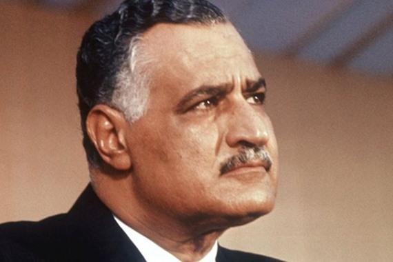 الرئيس الراحل جمال عبدالناصر