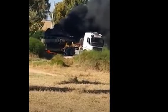 صورة شاهد.. المقاومة تستهدف دبابة إسرائيلية «ميركافا» وتدمرها