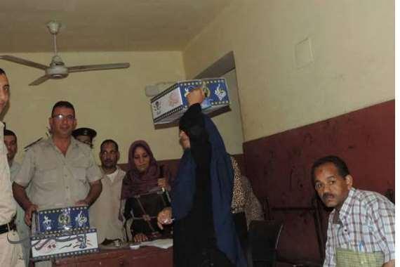 توزيع كرتونة رمضان بمركز ناصر