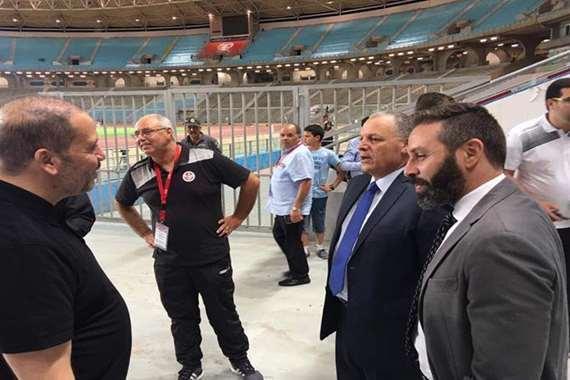 الحزن يخيم على بعثة المنتخب عقب الخسارة أمام تونس