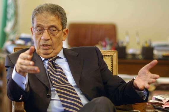 عمرو موسى، رئيس لجنة الخمسين لوضع الدستور،