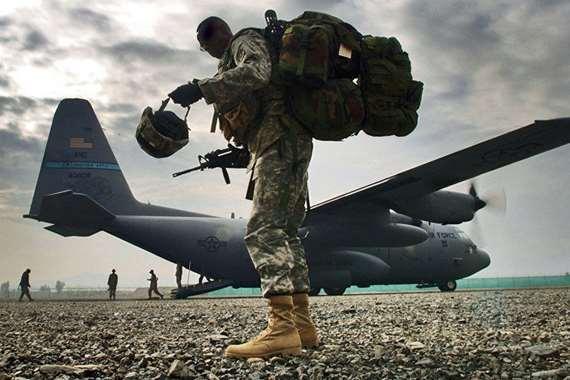 قاعدة عسكرية امريكية