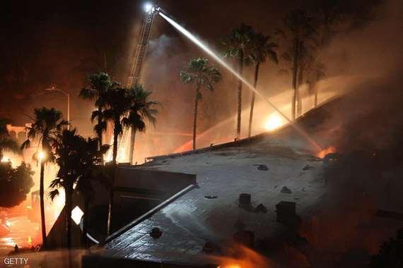 حريق الغابات فى البرتغال