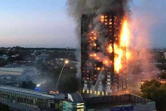 حريق البرج