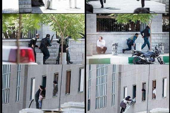 صور هجوم البرلمان الايرانى