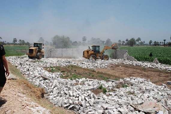 مصير الأراضي المستردة بعد حملات الإزالة بالمحافظات
