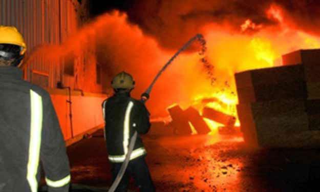 انفجار محول كهرباء بسبب الأحمال الزائدة