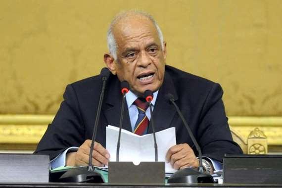 الدكتور على عبدالعال، رئيس مجلس النواب