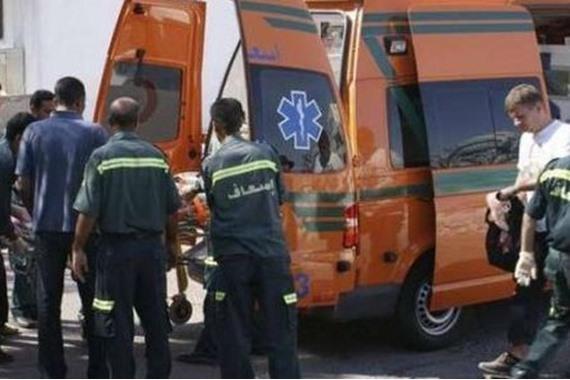 صورة وفاة زوج بأزمة قلبية أثناء مطاردة زوجته في الشارع
