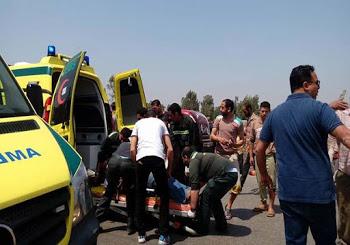 تفاصيل دهس سيارة شرطة شخصًا بالإسكندرية