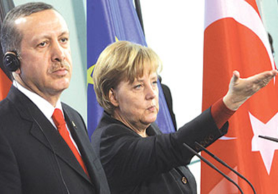 """""""ميركل"""" تواجه ضغوطا لمنع زيارة """"أردوغان"""""""