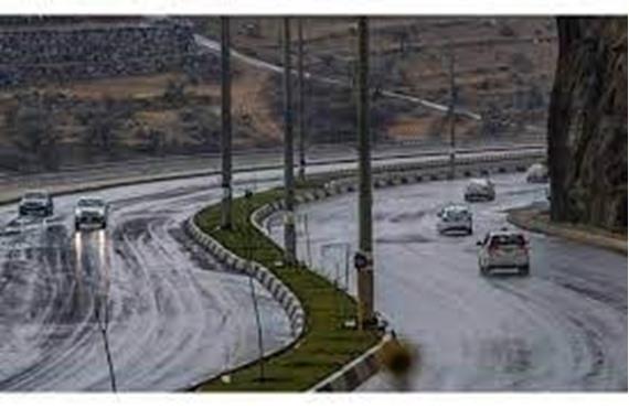صورة أمطار رعدية وثلوج علي هذه المناطق بالمملكة