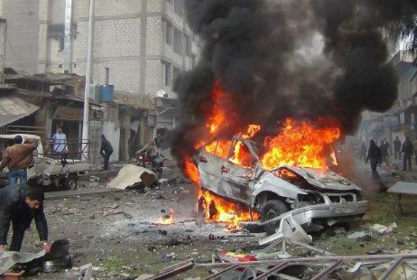 مقتل 8 أشخاص في انفجار سيارة مفخخة ببغداد