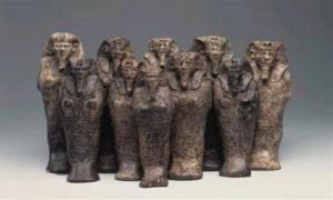 """ضبط تمثال حجري بحوزة سائق """"توك توك"""" بالشرقية"""