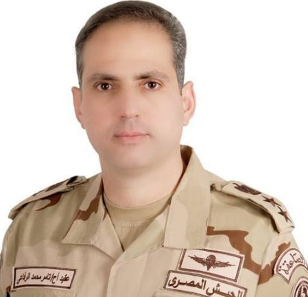 تعيين تامر الرفاعى متحدثا عسكريا للقوات المسلحة