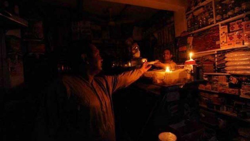 انقطاع التيار الكهربائي عن مدينتي الشيخ وزيد ورفح