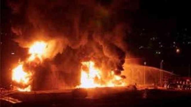 السيطرة على حريق نشب في محول كهرباء بسفاجا