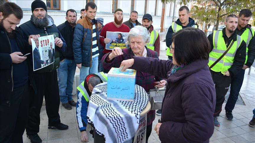 حملة تبرعات للشعب السوري في مساجد البوسنة