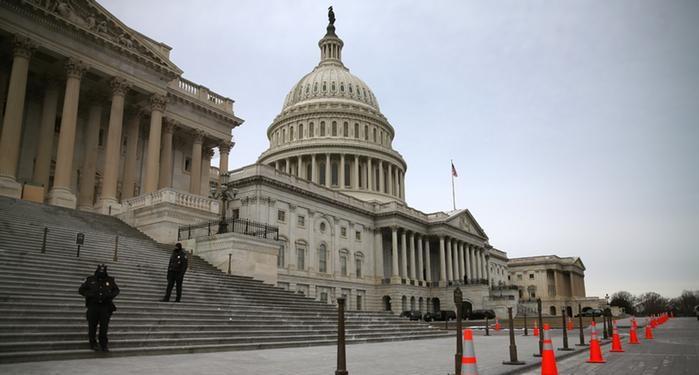 احتراق مكتبة الكونجرس