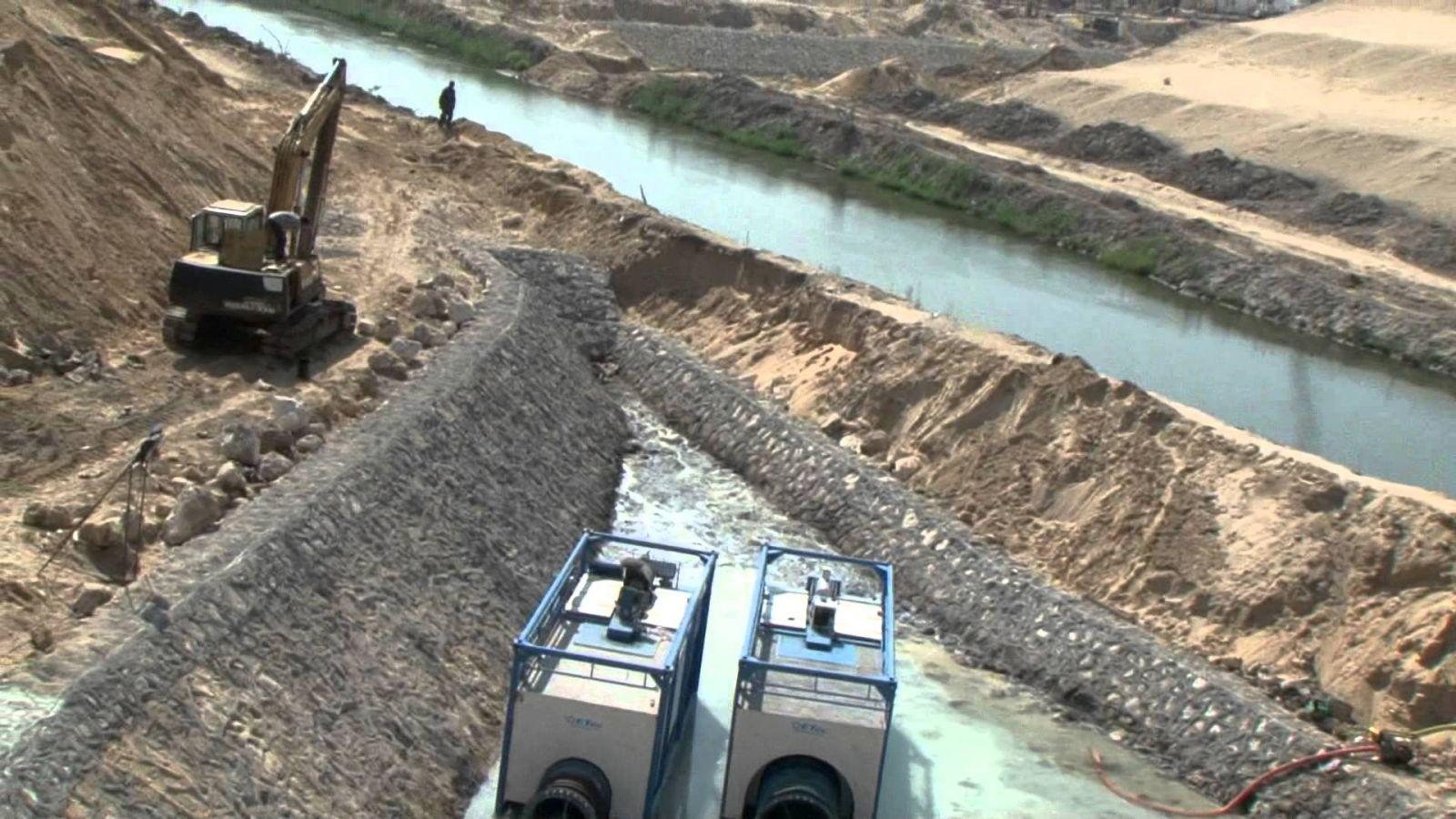 «سحارة سرابيوم».. لتنمية سيناء أم لإيصال النيل لإسرائيل؟