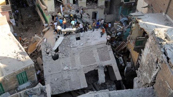 نتيجة بحث الصور عن انهيار عقارات بالاسكندرية