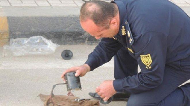 إبطال مفعول عبوة بدائية بالقرب من مبنى محافظة الجيزة
